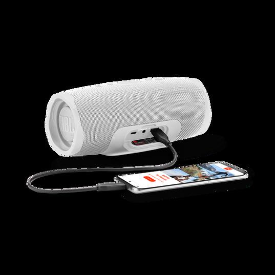 JBL Charge 4 - White - Portable Bluetooth speaker - Detailshot 4