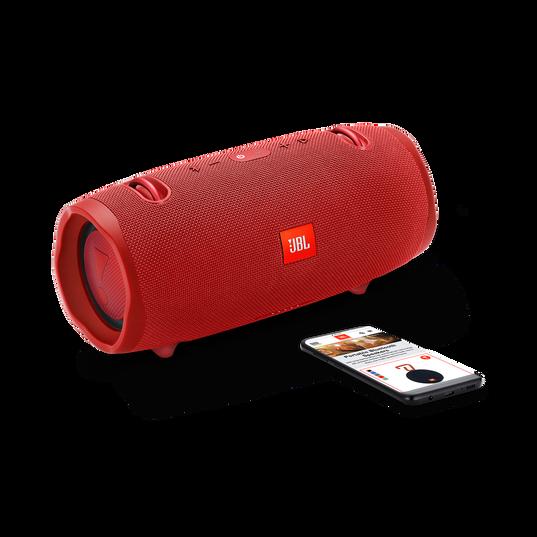 JBL Xtreme 2 - Red - Portable Bluetooth Speaker - Detailshot 1