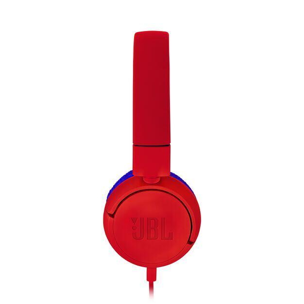 JBL JR300 - Spider Red - Kids on-ear Headphones - Detailshot 1