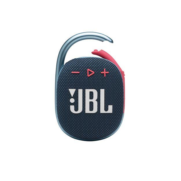 JBL CLIP 4 - Blue / Pink - Ultra-portable Waterproof Speaker - Front