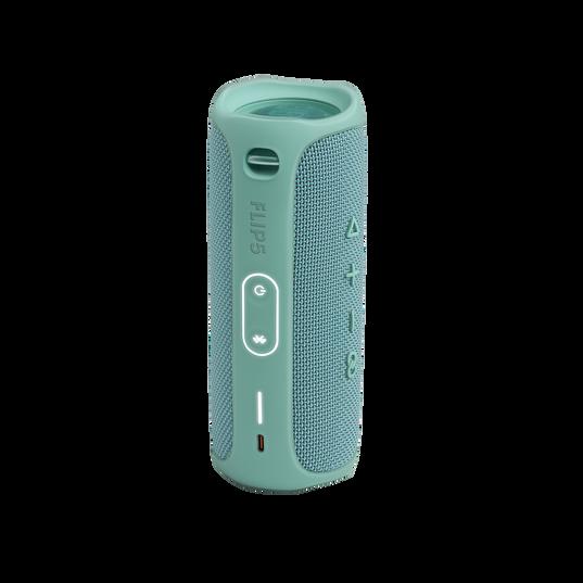 JBL FLIP 5 - Teal - Portable Waterproof Speaker - Back