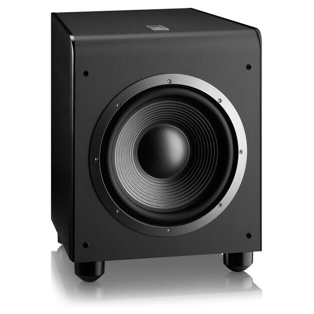 "ES250P - Black - 400 Watt, 300mm (12"") Subwoofer - Detailshot 1"