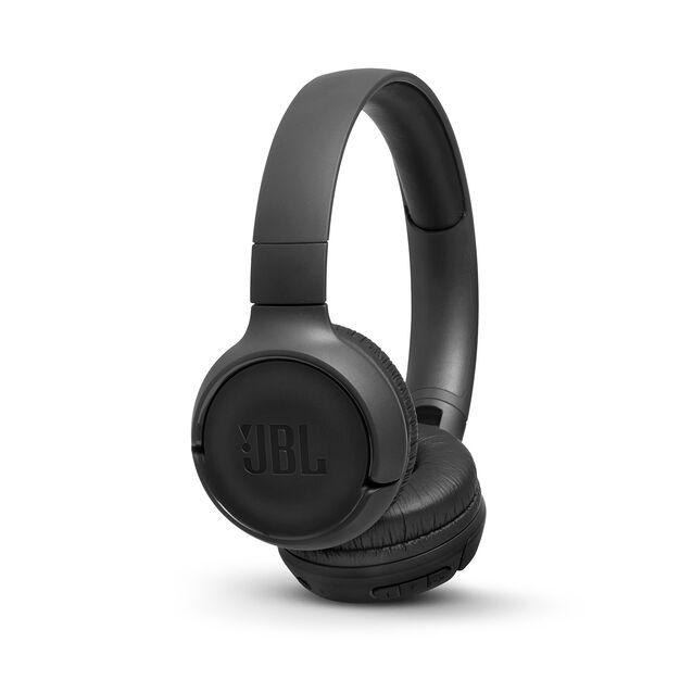 JBL TUNE 560BT - Black - Wireless on-ear headphones - Hero