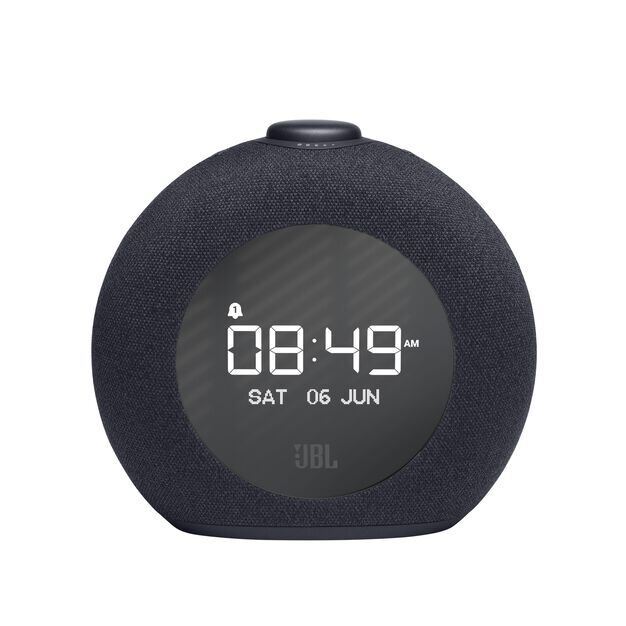 JBL Horizon 2 DAB - Black - Bluetooth clock radio speaker with DAB/DAB+/FM - Front