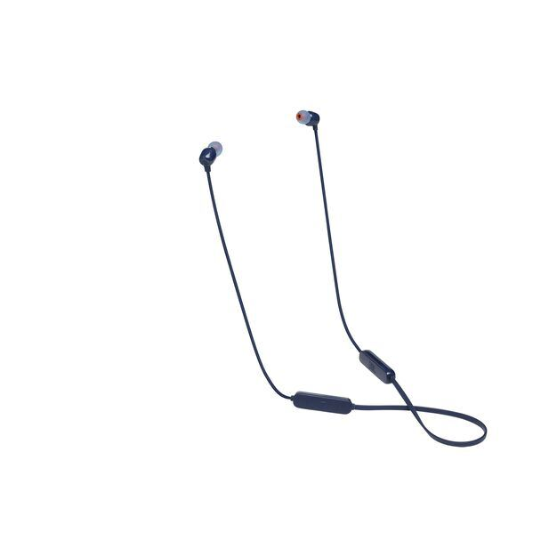 JBL TUNE 115BT - Blue - Wireless In-Ear headphones - Hero