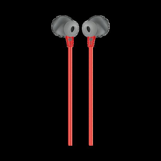 JBL Endurance RUN - Red - Sweatproof Wired Sport In-Ear Headphones - Back