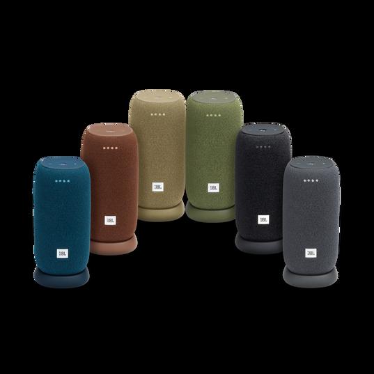 JBL Link Portable - Grey - Portable Wi-Fi Speaker - Detailshot 3