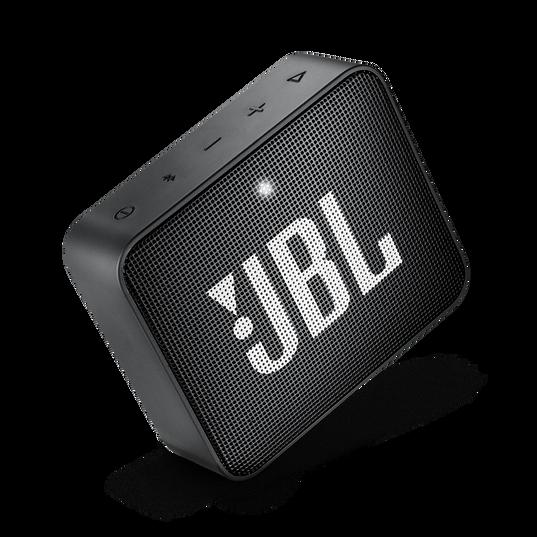 JBL GO 2 - Midnight Black - Portable Bluetooth speaker - Detailshot 2