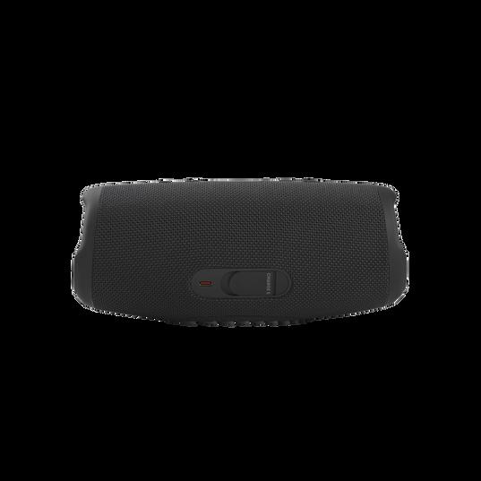 JBL CHARGE 5 - Black - Portable Waterproof Speaker with Powerbank - Back