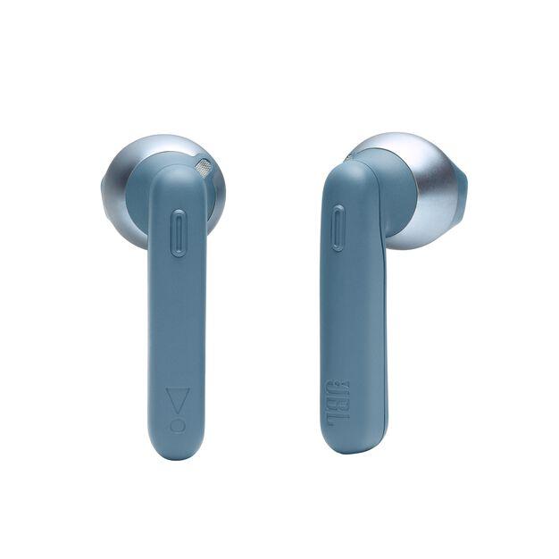 JBL TUNE 220TWS - Blue - True wireless earbuds - Detailshot 1