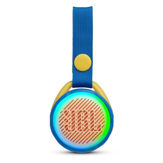 JBL JR POP - Cool Blue - Portable speaker for kids - Front