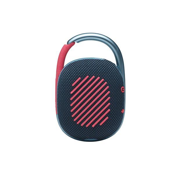 JBL CLIP 4 - Blue / Pink - Ultra-portable Waterproof Speaker - Back