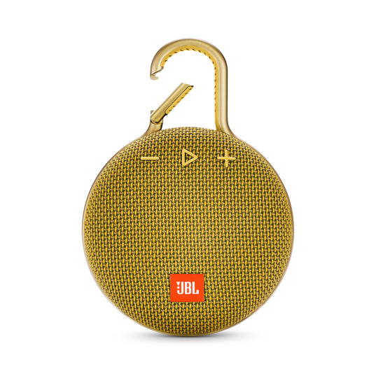 JBL CLIP 3 - Mustard Yellow - Portable Bluetooth® speaker - Front