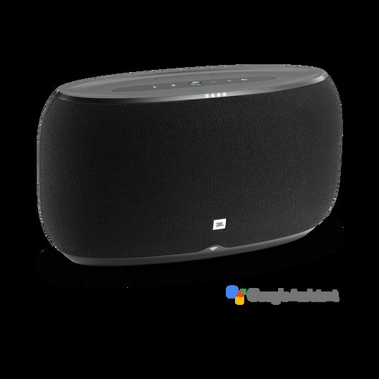 JBL Link 500 - Black - Voice-activated speaker - Hero