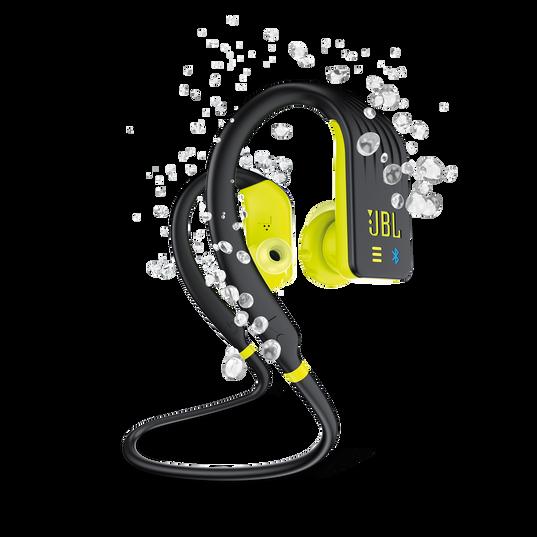 JBL Endurance DIVE - Yellow - Waterproof Wireless In-Ear Sport Headphones with MP3 Player - Hero