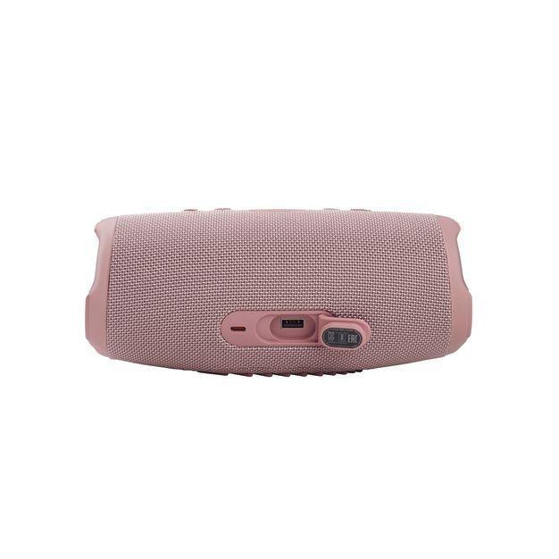JBL CHARGE 5 - Pink - Portable Waterproof Speaker with Powerbank - Detailshot 1