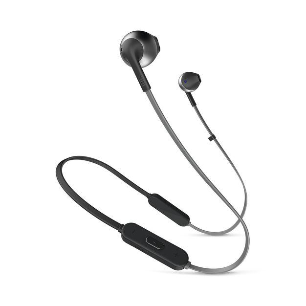 JBL TUNE 205BT - Black - Wireless Earbud headphones - Hero