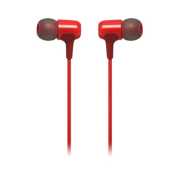 E15 - Red - In-ear headphones - Detailshot 1