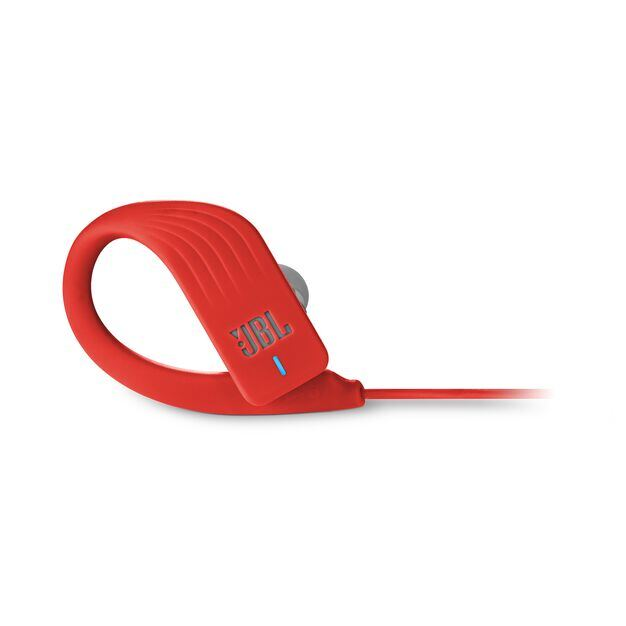 JBL Endurance SPRINT - Red - Waterproof Wireless In-Ear Sport Headphones - Detailshot 4