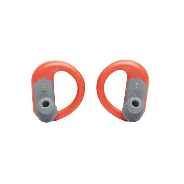 JBL Endurance Peak II - Coral Orange - Waterproof True Wireless In-Ear Sport Headphones - Detailshot 8