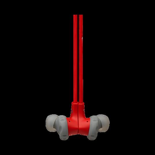 JBL Endurance RUNBT - Red - Sweatproof Wireless In-Ear Sport Headphones - Detailshot 3