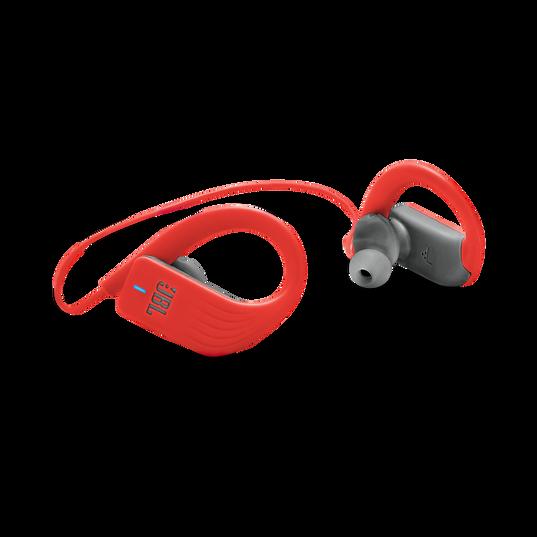 JBL Endurance SPRINT - Red - Waterproof Wireless In-Ear Sport Headphones - Detailshot 1