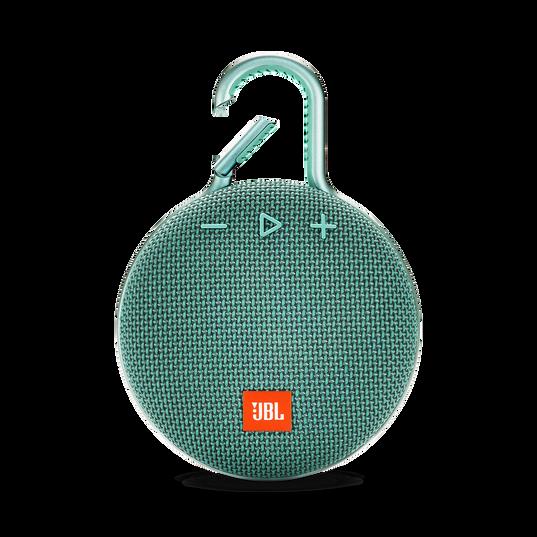 JBL CLIP 3 - River Teal - Portable Bluetooth® speaker - Front