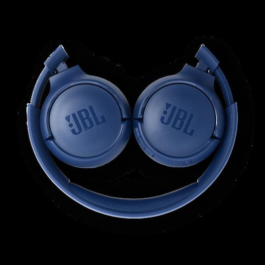 JBL TUNE 500BT - Blue - Wireless on-ear headphones - Detailshot 2