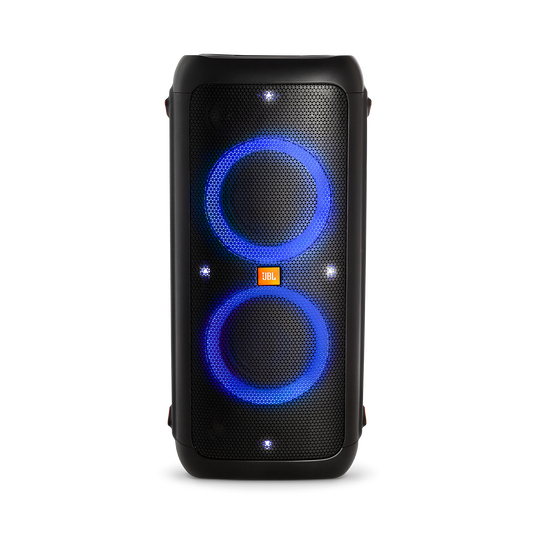 JBL PartyBox 300 - Black - Battery-powered portable Bluetooth party speaker with light effects - Detailshot 1