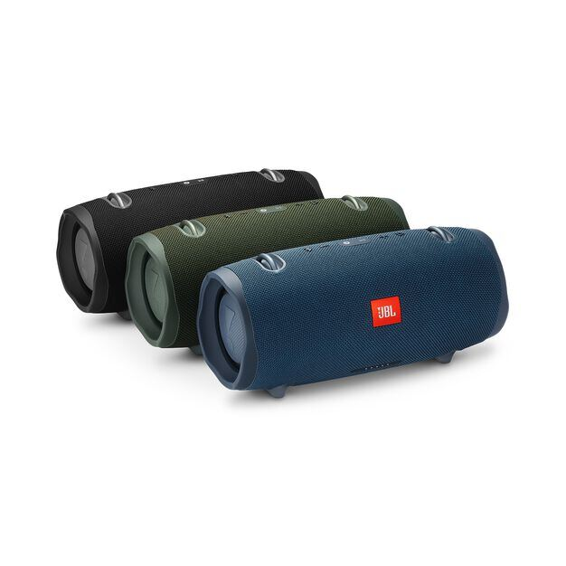 JBL Xtreme 2 - Midnight Black - Portable Bluetooth Speaker - Detailshot 3