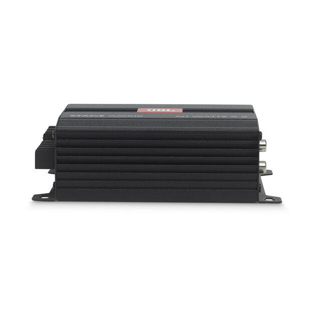 JBL Stage Amplifier A6002 - Black - Class D Car Audio Amplifier - Detailshot 3