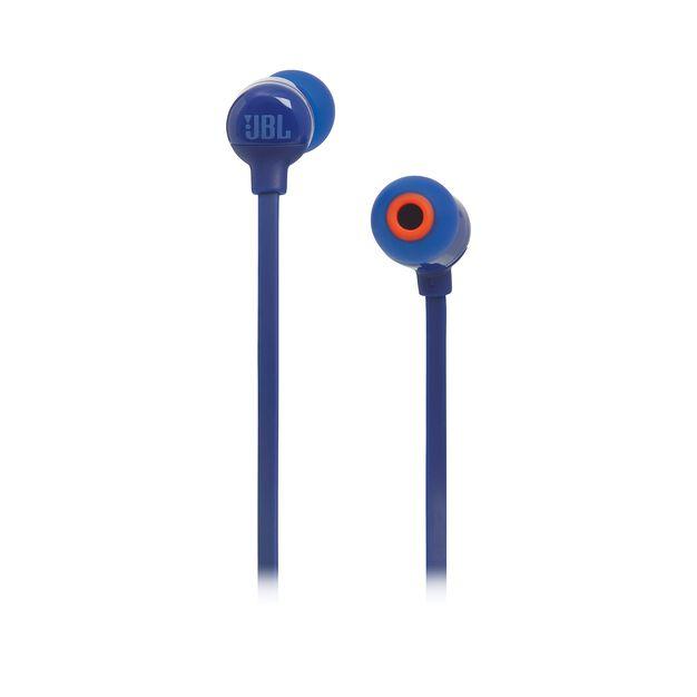 JBL TUNE 160BT - Blue - Wireless in-ear headphones - Front