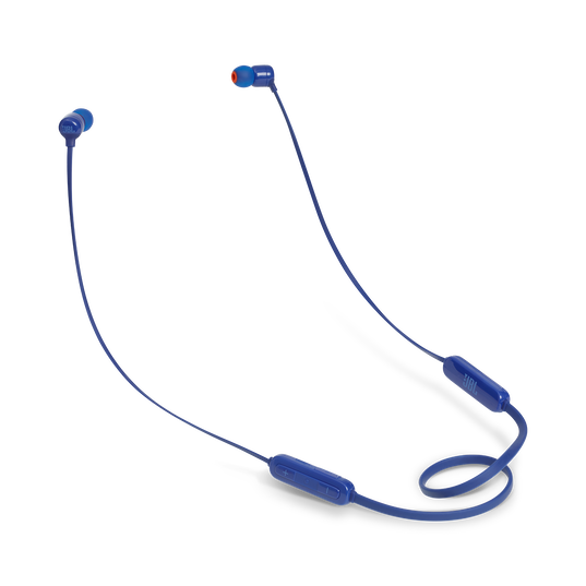 JBL TUNE 110BT - Blue - Wireless in-ear headphones - Hero