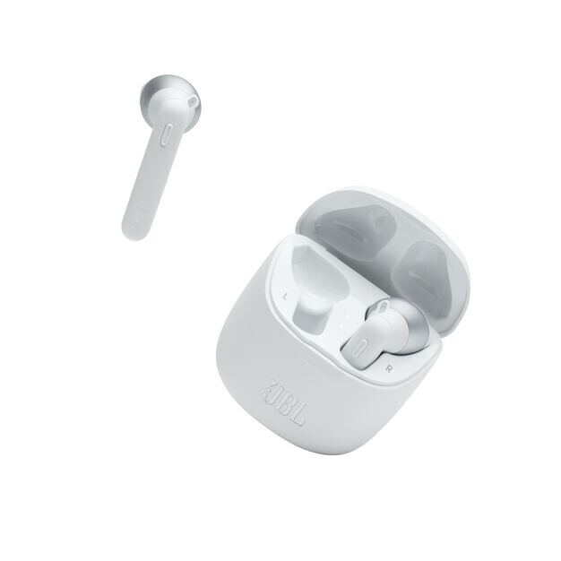 JBL Tune 225TWS - White - True wireless earbuds - Detailshot 3