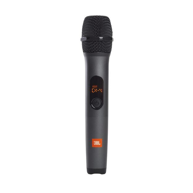 JBL Wireless Microphone Set - Black - Wireless two microphone system - Front