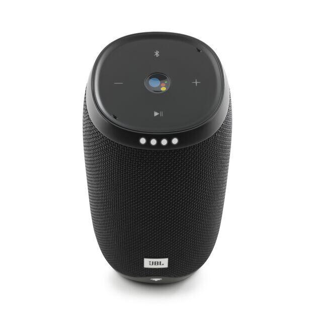 JBL Link 10 - Black - Voice-activated portable speaker - Detailshot 1