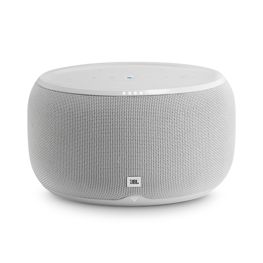 JBL Link 300 - White - Voice-activated speaker - Front