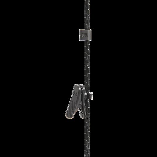 UA Sport Wireless REACT - Black - Secure-fitting wireless sport earphones with JBL technology and sound - Detailshot 2