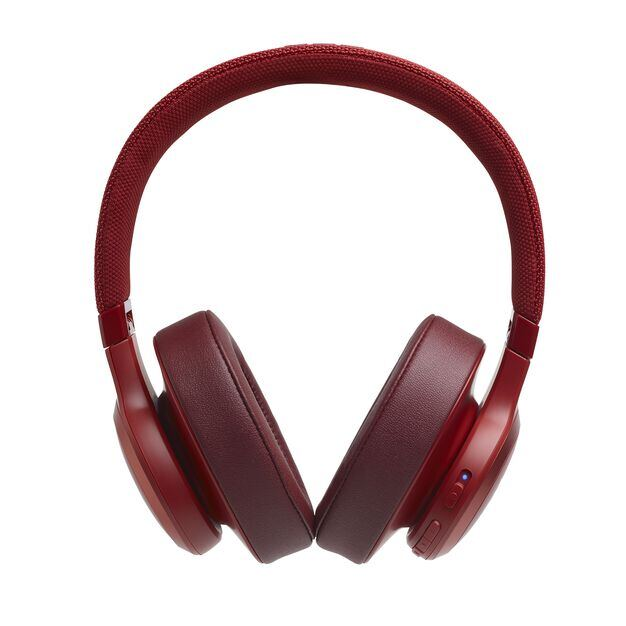 JBL LIVE 500BT - Red - Your Sound, Unplugged - Front