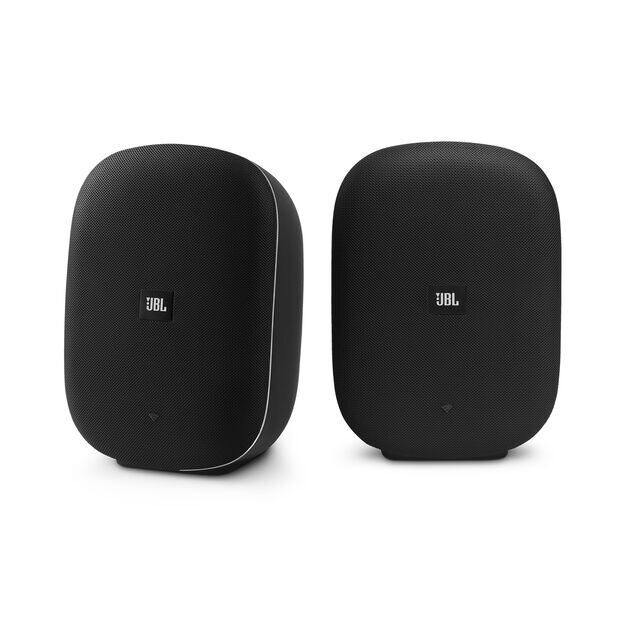 JBL® CONTROL XSTREAM - Black - WIRELESS STEREO SPEAKERS WITH CHROMECAST BUILT-IN - Front