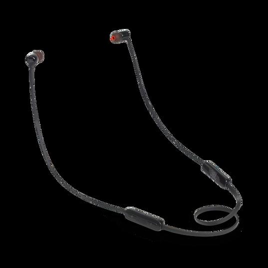 JBL TUNE 110BT - Black - Wireless in-ear headphones - Hero