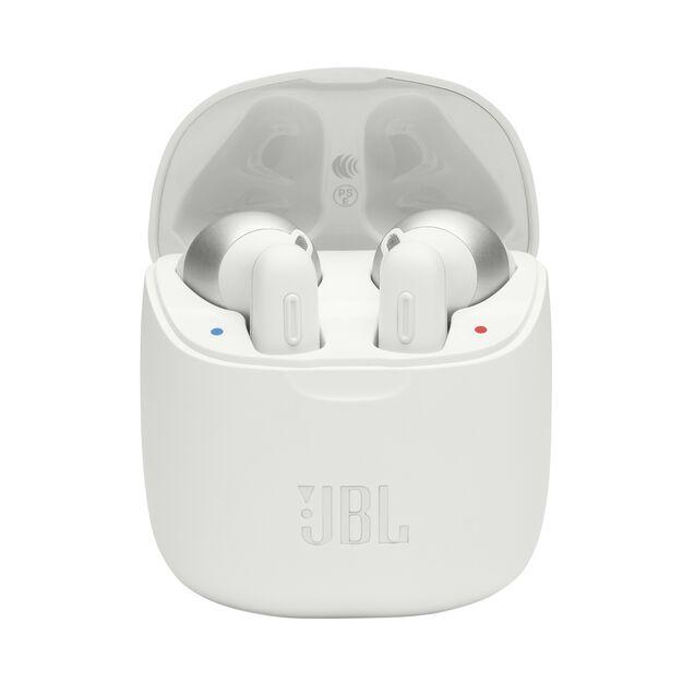 JBL TUNE 220TWS - White - True wireless earbuds - Hero