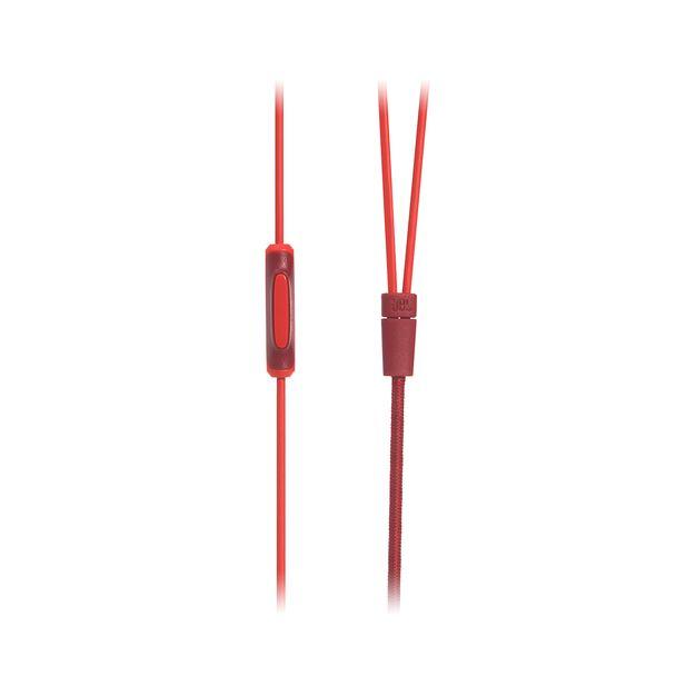 E15 - Red - In-ear headphones - Detailshot 3