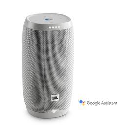 JBL Link 10 - White - Voice-activated portable speaker - Hero